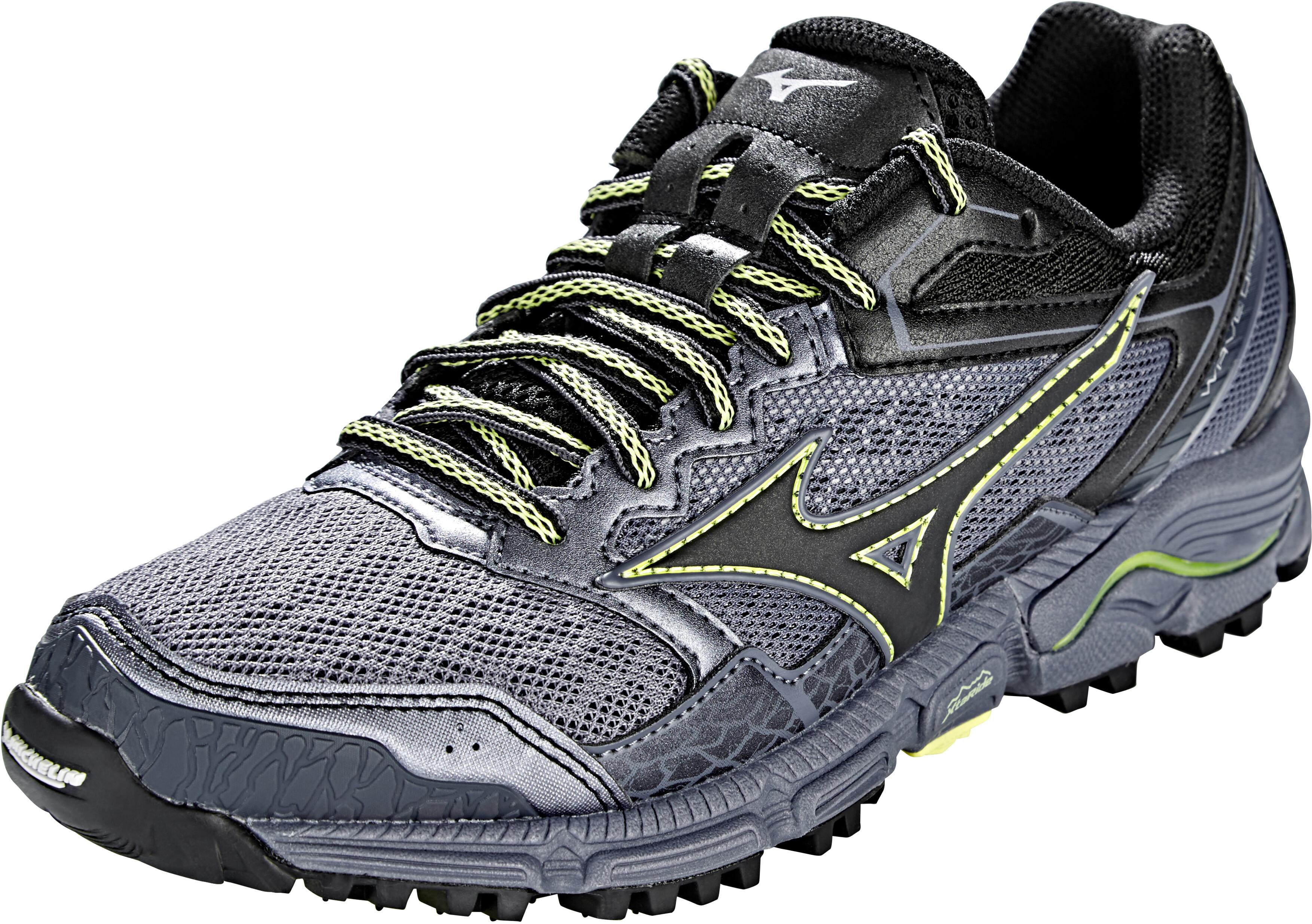premium selection 48ce8 f3a6c Mizuno Wave Daichi 3 Running Shoes Women folkstone gray/black/sunny lime